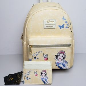 Loungefly Snow White Mini Backpack and Cardholder